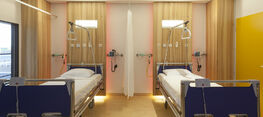 LUMC Patient rooms