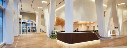 UNStudio Tower lobby
